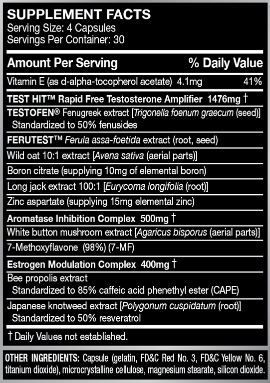 fortitude-supplement-facts