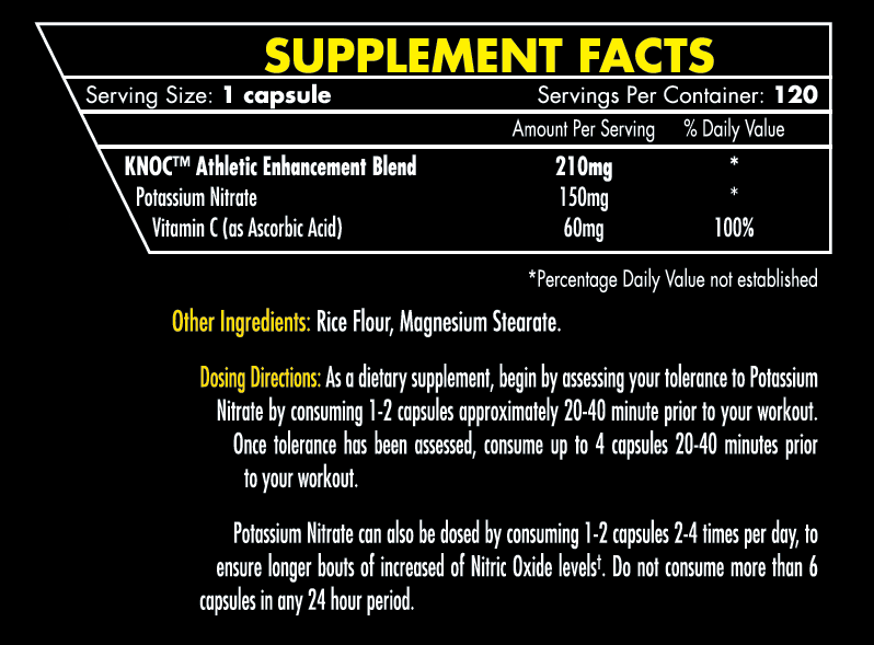 iForce Pot Nitrate facts