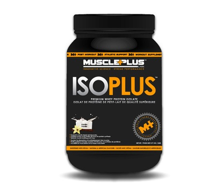 MusclePlus Labs ISO Plus Vanilla