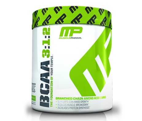 MusclePharm BCAA 3:2:1 Powder